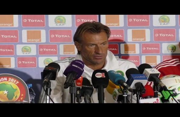 لقاء صحافي للناخب الوطني قبل مباراة الأسود أمام كوت ديفوار