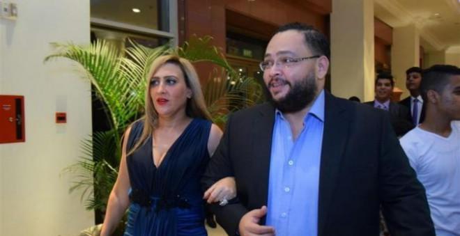 الممثل المصري أحمد رزق يحتفل بعيد ميلاذ زوجته المغربية بهذه الطريقة !!