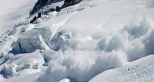 انهيار جليدي بإيطاليا