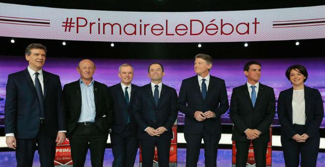برودة مناظرة اليسار الفرنسي تزيد الشكوك حول حظوظه في الانتخابات
