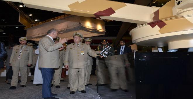 الجزائر ثامن أكبر مشتر للسلاح في العالم
