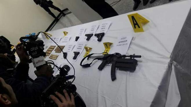 الخيام: أسلحة الخلية الإرهابية دخلت من الجزائر بتنسيق مع داعش