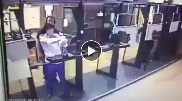 اراد الإنتحار فاخترقته الرصاصة لتصيب مدربــه