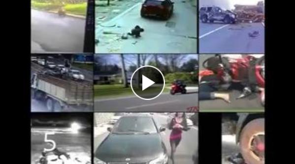خطير : 11 من بين اخطر المشاهد التي إلتقطتها عدسات كامرات المراقبة