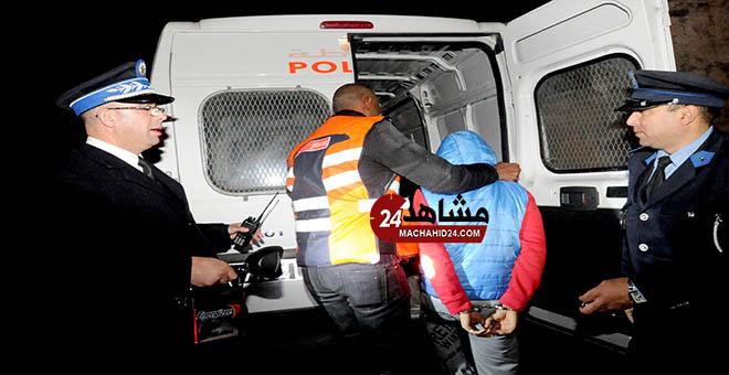 بالفيديو.. إيقاف عصابة ''تريبورتور فاس'' بعد مطارة هوليودية