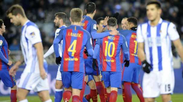 برشلونة يفك عقدة  ملعب ريال سوسيداد