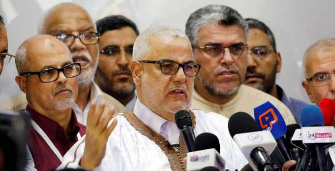 بنكيران يمرر رزمة من الرسائل السياسية أمام أعضاء حزبه بالخارج