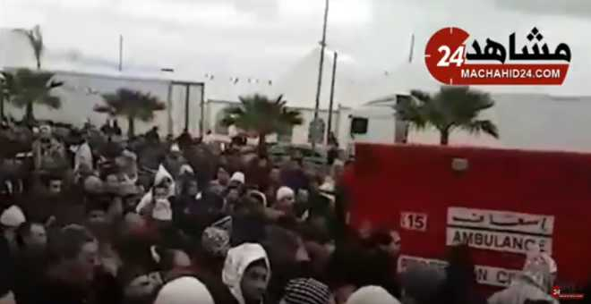 آلاف المغاربة يشيعون جثمان شيخ البودشيشيين إلى متواه الأخير