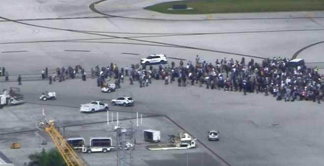 قتلى وجرحى في هجوم مسلح على مطار فلوريدا