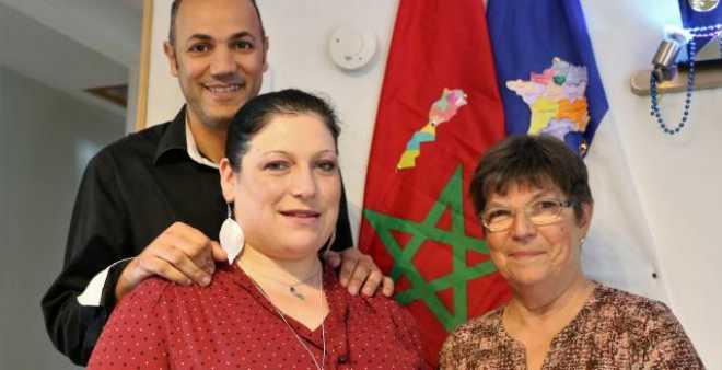 مغربي وزوجته الفرنسية يعطيان مثالا للتعايش في فرنسا