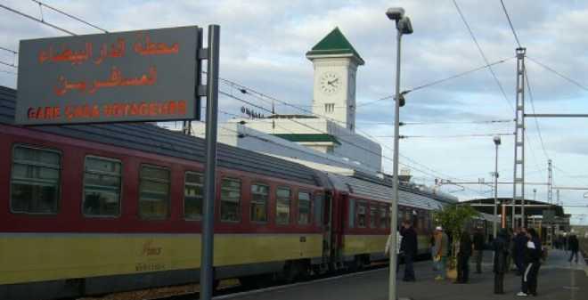 محطة الدار البيضاء المسافرين تستأنف حركة القطارات بعد العطب