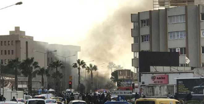 عاجل... انفجار في مدينة إزمير بتركيا