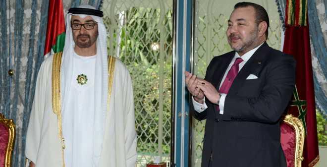 محمد بن زايد يمنح مؤسسة محمد الخامس للتضامن 10 ملايين دولار