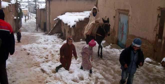 وزارة الداخلية تكشف حصيلة إجراءات مواجهة البرد والعزلة