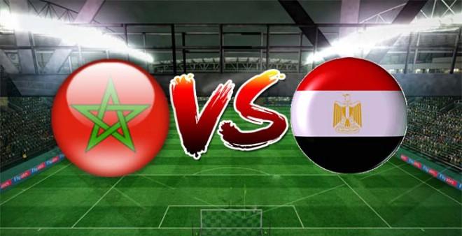 مشاهدة مباراة مصر والمغرب بث مباشر : كأس الأمم الأفريقية