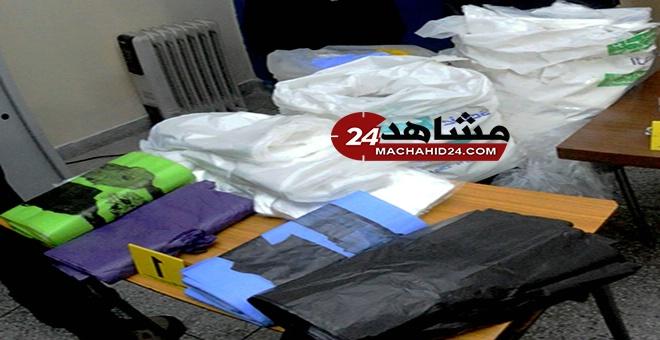 الأكياس البلاستيكية بلائحة ''أخطر'' محجوزات بوناني 2017
