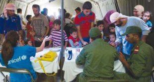 مخيم الزعتري للاجئين السوريين