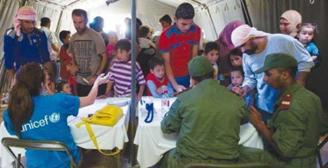 هذه حصيلة الخدمات الطبية بالمستشفى المغربي في مخيم الزعتري سنة 2016