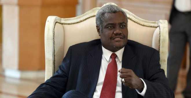 انتخاب التشادي موسى فقيه محمد رئيسا لمفوضية الاتحاد الإفريقي خلفا لزوما