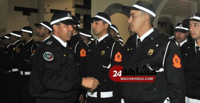 بالصور.. الشرطة المغربية في أول يوم خدمة بـ''الزي الجديد''