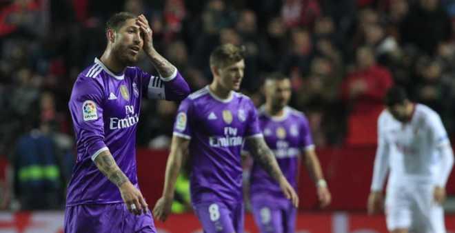 ريال مدريد يسقط في