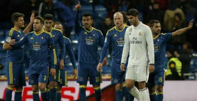كأس ملك إسبانيا.. ريال مدريد يسقط في فخ سيلتا فيغو