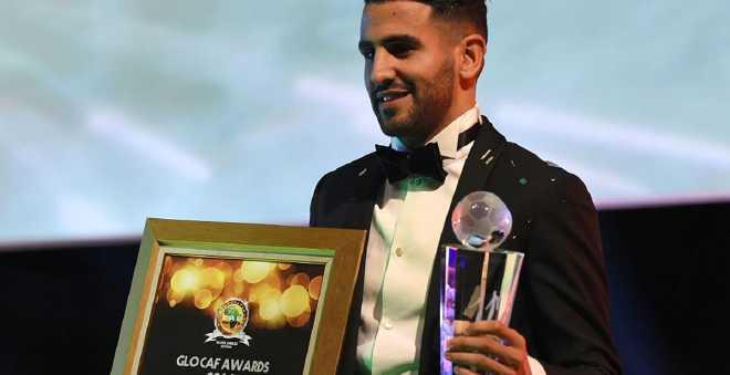 رياض محرز يتوج بجائزة أفضل لاعب في افريقيا