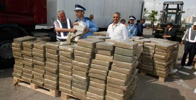 إحباط تهريب كمية كبيرة من مخدر الشيرا بميناء طنجة المتوسطي