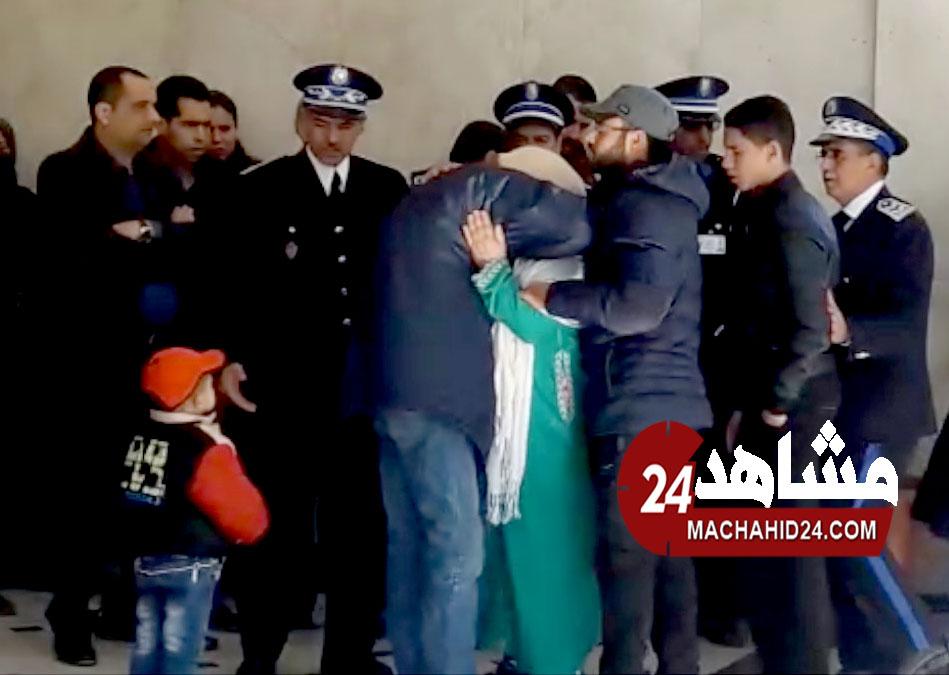 حصري.. أول فيديو لعائلات الأمنيين ضحايا حادثة فاس