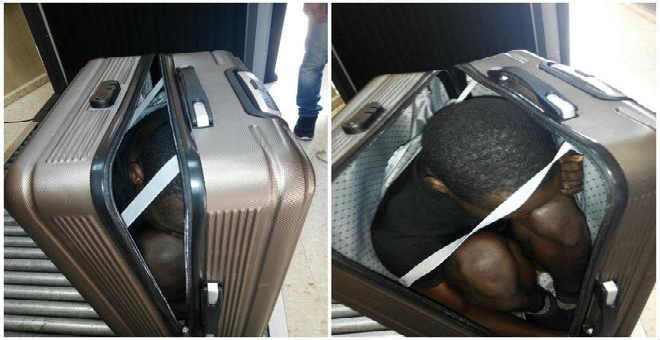 7 سنوات سجنا لمغربية حاولت تهريب مهاجر في حقيبة الى سبتة