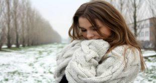 الخروج في البرد