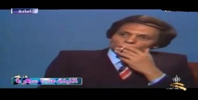 شاهد ماذا فعل الفنان عادل امام فى برنامج حوار بالكويت 1977