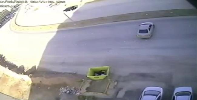 بالفيديو.. كاميرا المراقبة ترصد حوادث غريبة في أحد الشارع