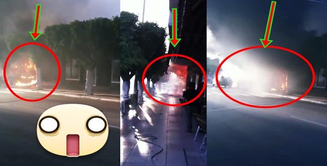 بالفيديو.. ..انفجارحمام بحي البساتين بمدينة مكناس