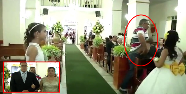 بالفيديو.. رجل يطلق الرصاص على مدعوين في حفل زفاف والسبب !!