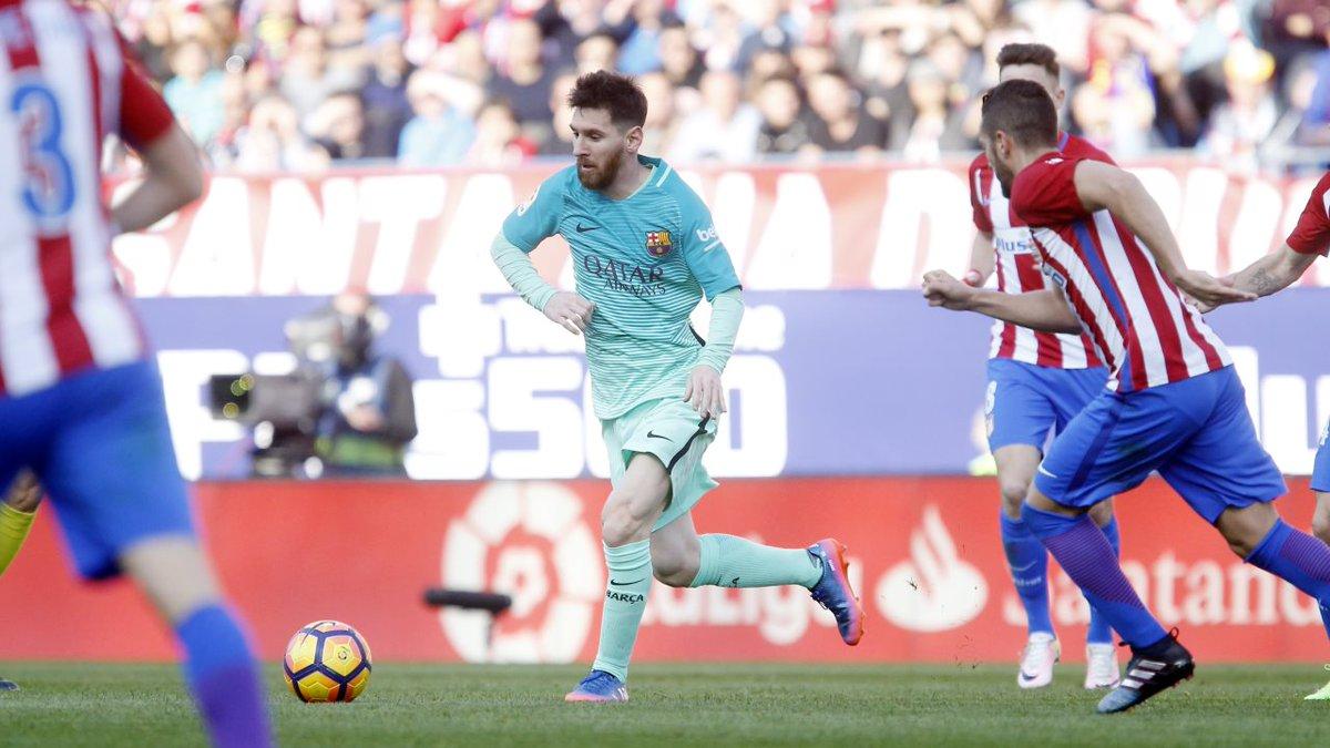 برشلونة ينتصر ويفك عقدة الأتلتيكو