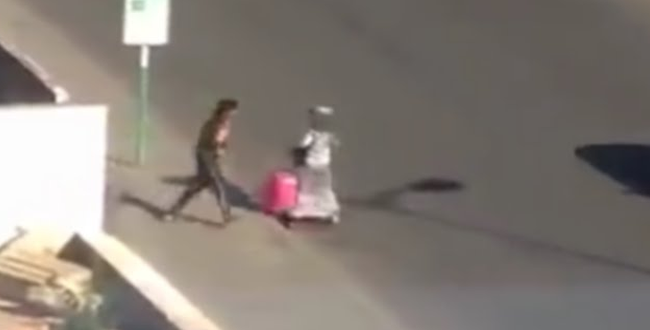 فيديو.. لحظة سرقة امرأة بمحطة ولاد زيان بالدار البيضاء