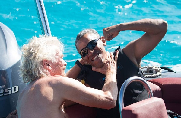 هكذا يقضى باراك أوباما أيامه بعد الرئاسة
