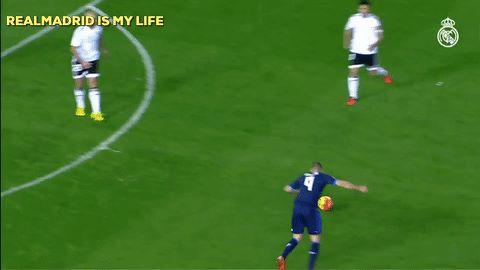 مهارة ريال مدريد الخارقة في مباراة الامس