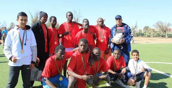 جامعة رياضية تدمج أبناء الأفارقة مع الأطفال المغاربة