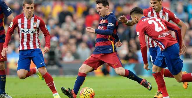 برشلونة يقترب من النهائي الرابع على التوالي