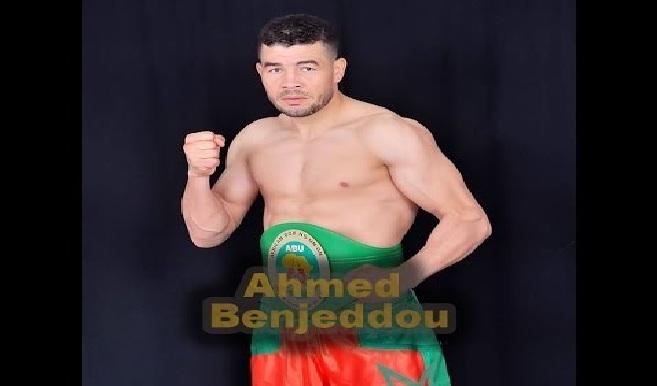 الملاكم أحمد بنجدو بطلا للعالم