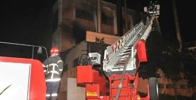 حريق يلتهم مصنعا للنسيج بالبيضاء!