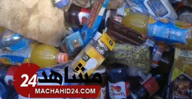 بالفيديو. السلطات تحجز كمية كبيرة من المواد الغذائية الفاسدة وسط البيضاء!
