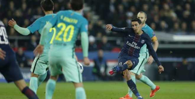 باريس سان جيرمان يعذب البرسا برباعية تاريخية في دوري الأبطال
