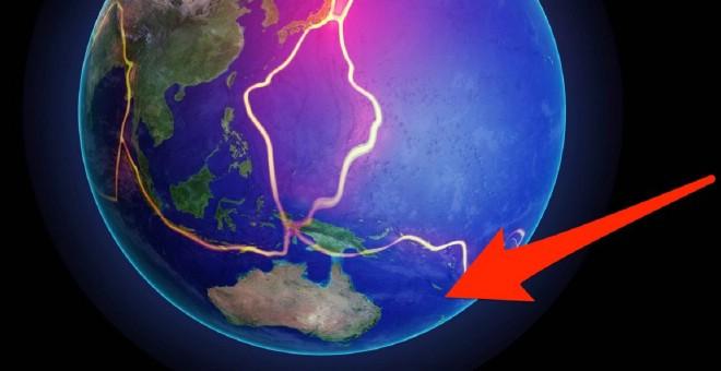 العلماء يكتشفون قارة بأكملها غارقة في المحيط الهادي