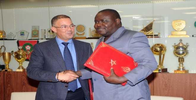 الجامعة توقع اتفاقيتين مع اتحادي البنين وافريقيا الوسطى