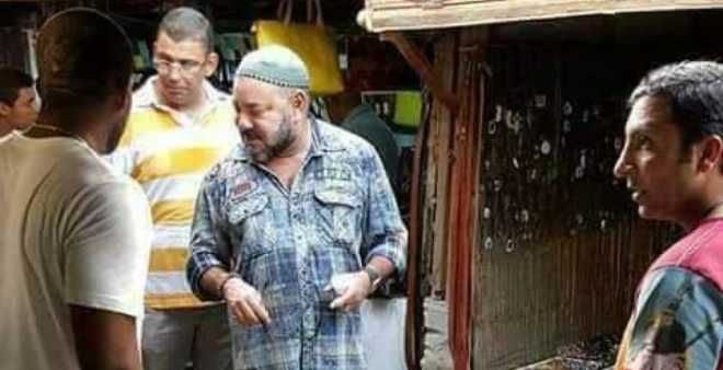 صورة الملك محمد السادس في أسواق نجيريا تثير إعجاب