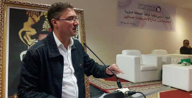 مجاهد يكشف حيثيات المؤتمر الدراسي للنقابة الوطنية للصحافة المغربية