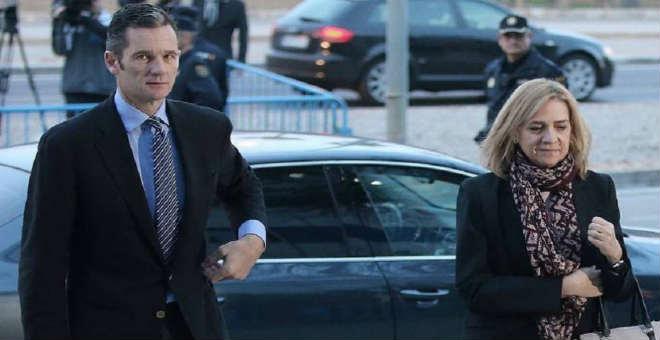 البراءة للأميرة الاسبانية كريستينا و6 سنوات سجنا لزوجها